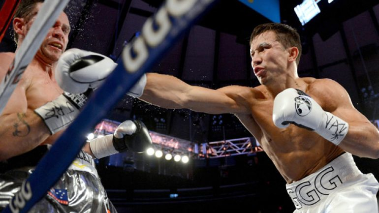 Photo gallery: Gennady Golovkin vs. Daniel Geale