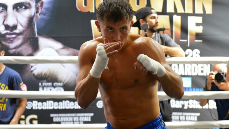 Lem's latest: Golovkin-Rubio close to being made for Oct. 18