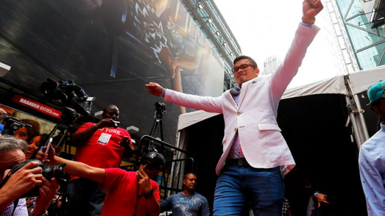 Lem's latest: Marcos Maidana says Floyd Mayweather Jr. 'wasn't that fast'