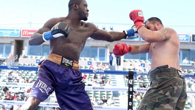 Wilder inspired to win title and fulfill promise to daughter