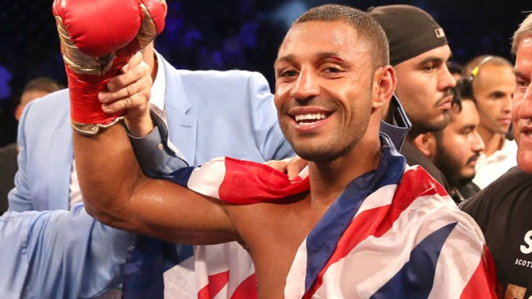 Kell Brook easily swats aside Kevin Bizier in two