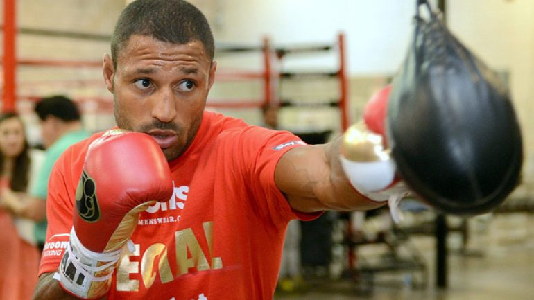 Kell Brook and Jessie Vargas are close to finalizing a deal for Aug. or Sept.