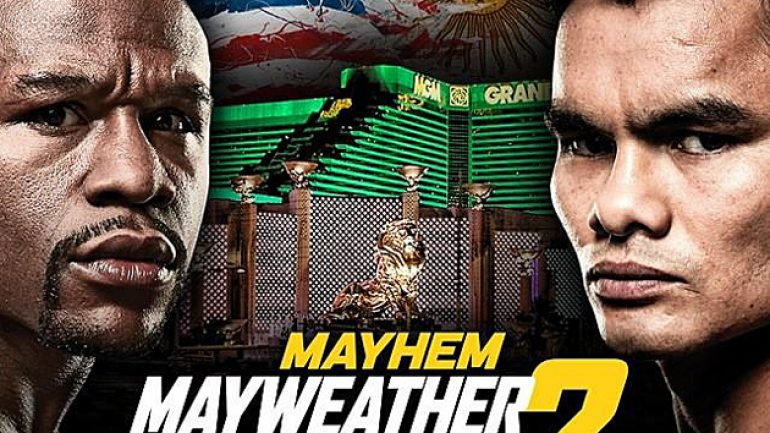 Floyd Mayweather Jr. announces 'Mayhem' PPV undercard on Twitter