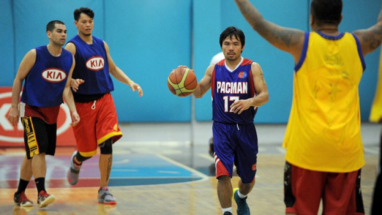 Could Coach Pacquiao land World Peace for his basketball team?
