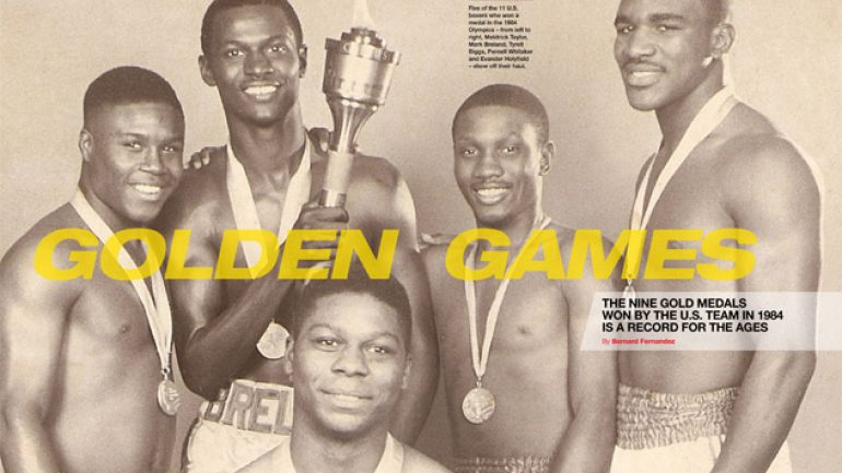 From THE RING Magazine: Golden games