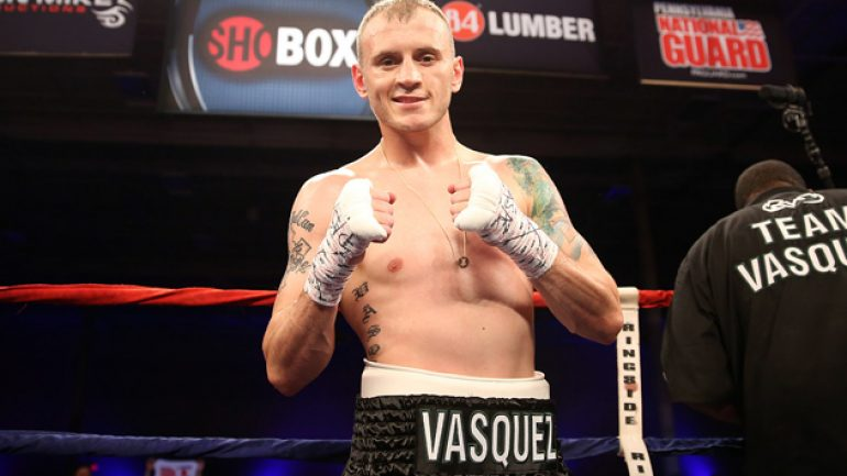 Sammy Vasquez to face Emmanuel Lartei Lartey on Feb. 20