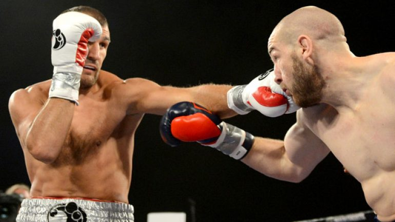 Sergey Kovalev stops Blake Caparello in two rounds