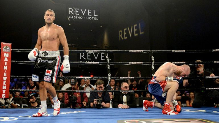 Photo gallery: Sergey Kovalev vs. Blake Caparello