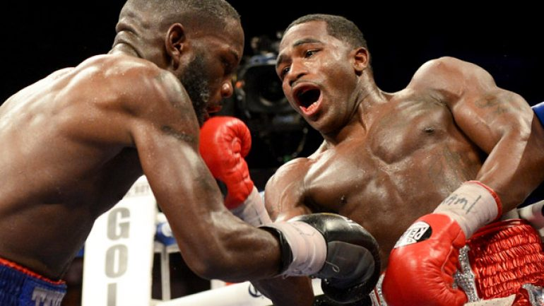 Adrien Broner to look for knockout vs. John Molina Jr.