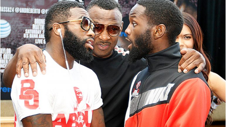Emmanuel Taylor says he's not an underdog against Adrien Broner