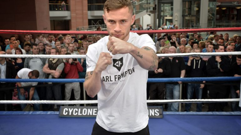 Carl Frampton vs. Chris Avalos to be televised on AWE