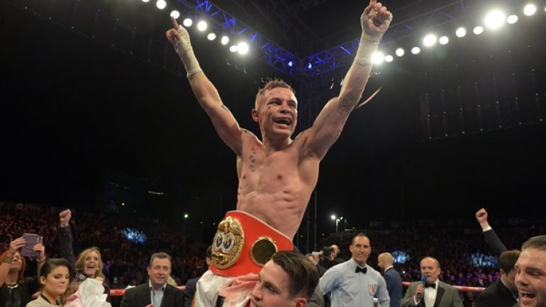 Carl Frampton takes a giant step by outpointing Scott Quigg