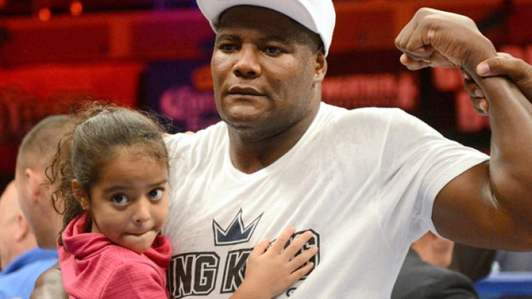 Luis Ortiz's suspension upheld pending Nov. hearing