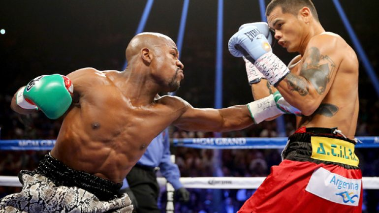 Floyd Mayweather Jr.: Marcos Maidana hurt me in the third round