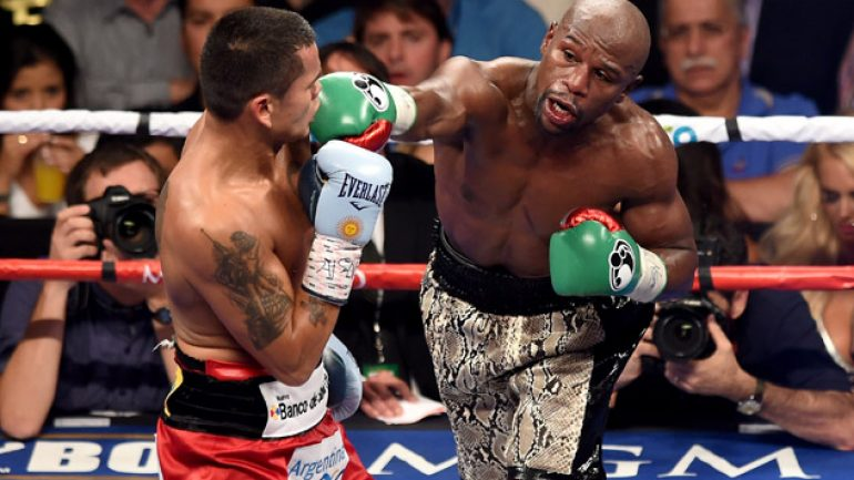Floyd Mayweather Jr. easily outpoints Marcos Maidana