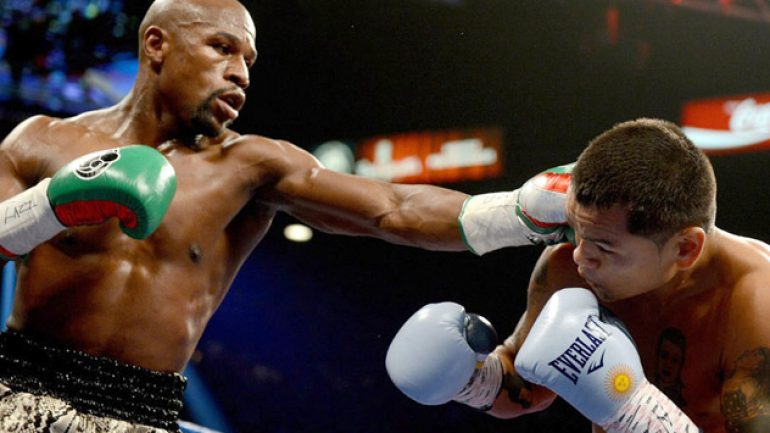 Photo gallery: Floyd Mayweather Jr. vs. Marcos Maidana II