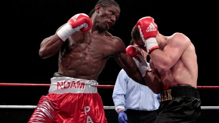 Hassan N'Dam N'Jikam says he will give Curtis Stevens 'boxing lesson'
