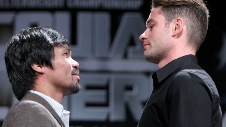 Photo gallery: Manny Pacquiao-Chris Algieri LA press conference