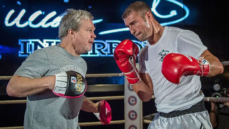 Freddie Roach says Lucian Bute has a lot of tools