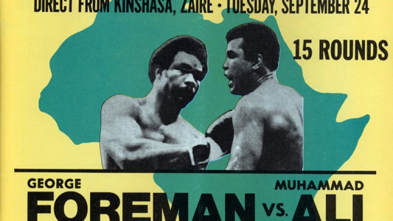 Rumble in the Jungle retrospective: Ali-Foreman 40 years later