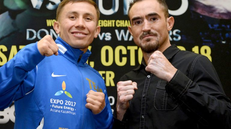 Photo gallery: Gennady Golovkin- Marco Antonio Rubio final press conference