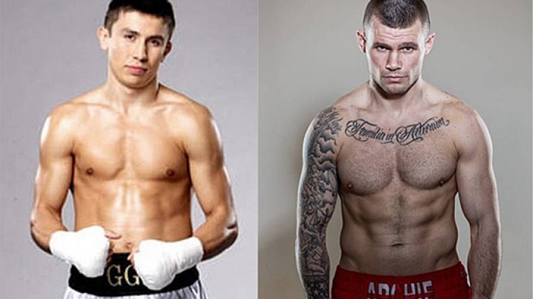 Gennady Golovin-Martin Murray set for Feb. 21