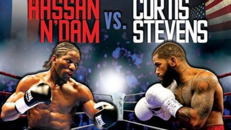 Hassan N'Dam easily outpoints Curtis Stevens in title eliminator
