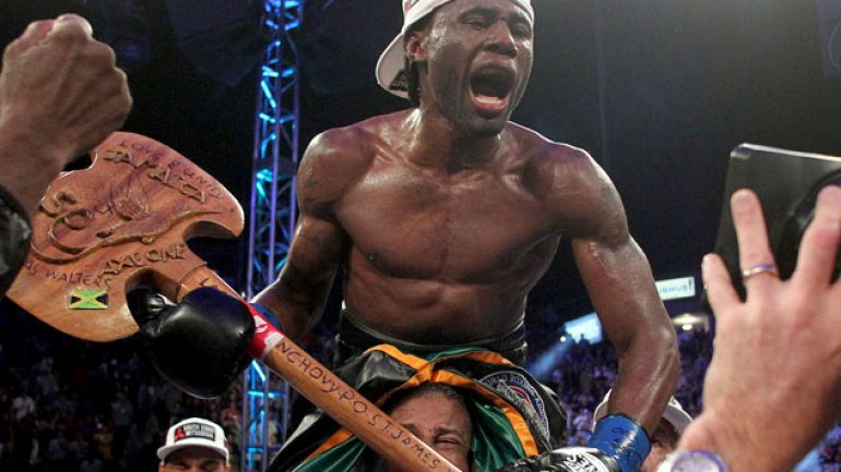 Nicholas Walters arrives, stops Nonito Donaire in six