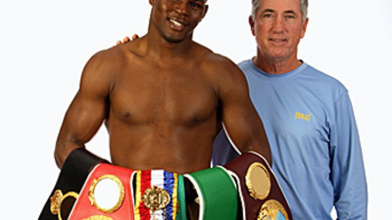 Trainer Pat Burns comments on Jermain Taylor's bizarre video
