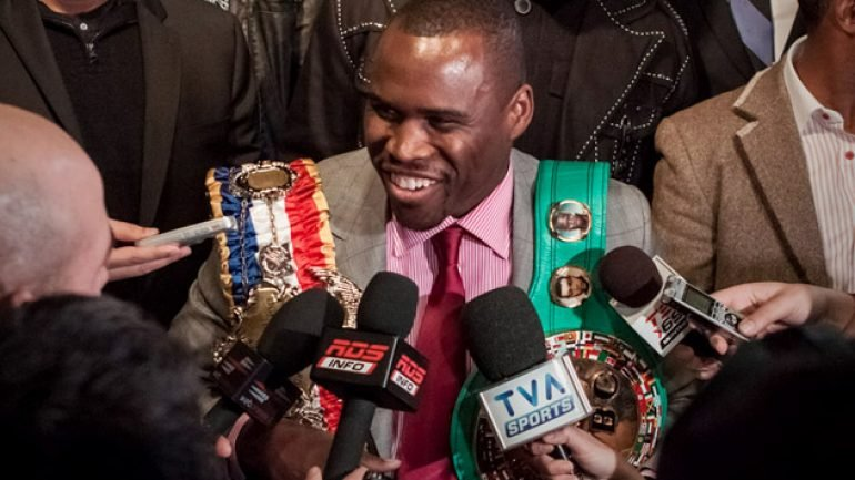 Photo gallery: Adonis Stevenson-Dmitry Sukhotsky press conference