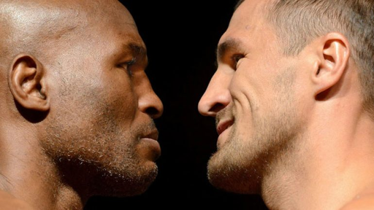 Photo gallery: Bernard Hopkins-Sergey Kovalev weigh-in