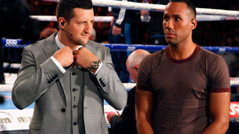 Carl Froch rethinks retirement, wants DeGale or Golovkin