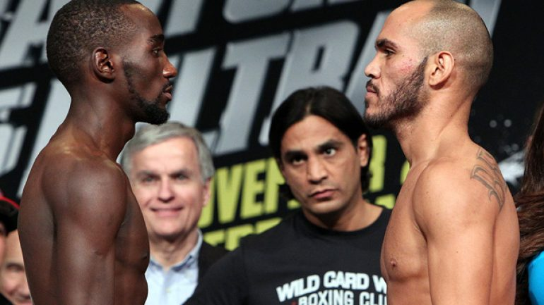 Photo gallery: Terence Crawford-Raymundo Beltran weigh-in