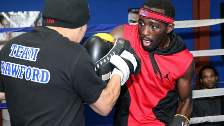 Terence Crawford keeps his focus on Raymundo Beltran