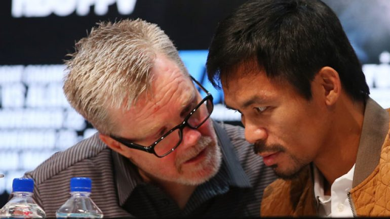 Styles, not the ABCs, make fights, says Freddie Roach