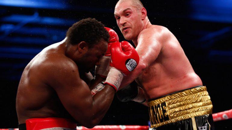Tyson Fury dominates Dereck Chisora to 10th-round stoppage
