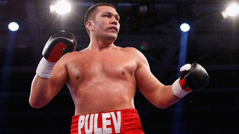 Kubrat Pulev returns on Oct. 17 in Germany