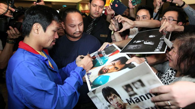 Photo gallery: Manny Pacquiao-Chris Algieri grand arrival