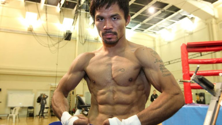 Manny Pacquiao to judge Miss Universe pageant