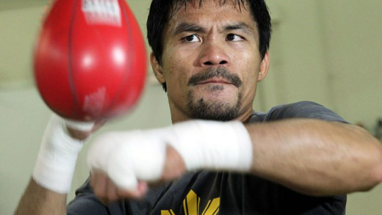 Bob  Arum, Michael Koncz: Manny Pacquiao agrees to face Floyd Mayweather Jr.