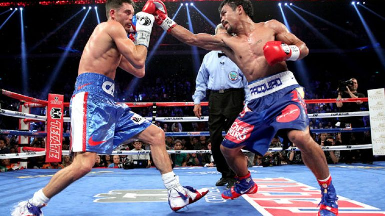 Photo gallery: Manny Pacquiao vs. Chris Algieri