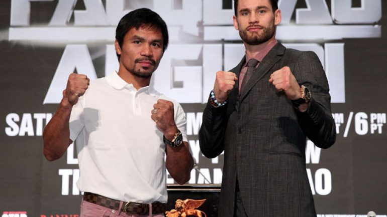Who wins Manny Pacquiao-Chris Algieri?