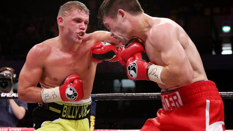 Billy Joe Saunders talks about stepping aside for Lee-Quillin