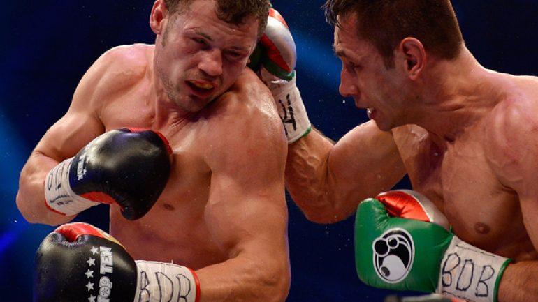 Felix Sturm, Robert Stieglitz battle to split-draw verdict