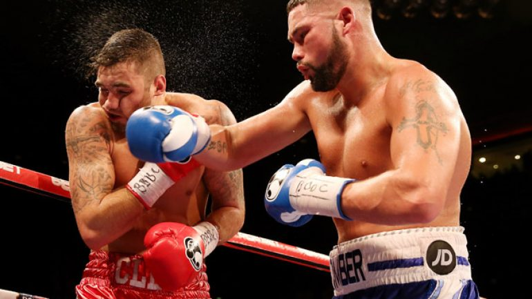 Photo gallery: Tony Bellew vs. Nathan Cleverly II card