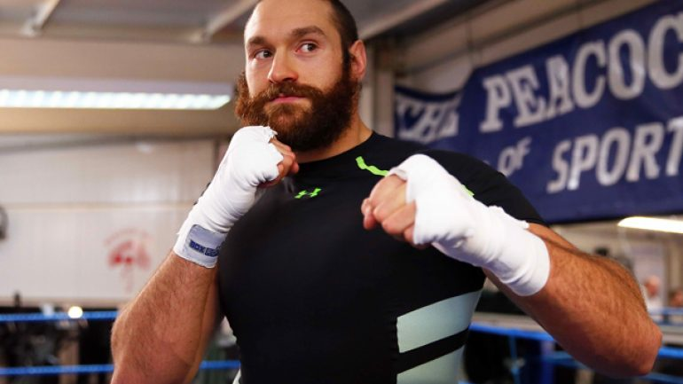 Press Release: Tyson Fury's uncle and trainer talks Klitschko preparation