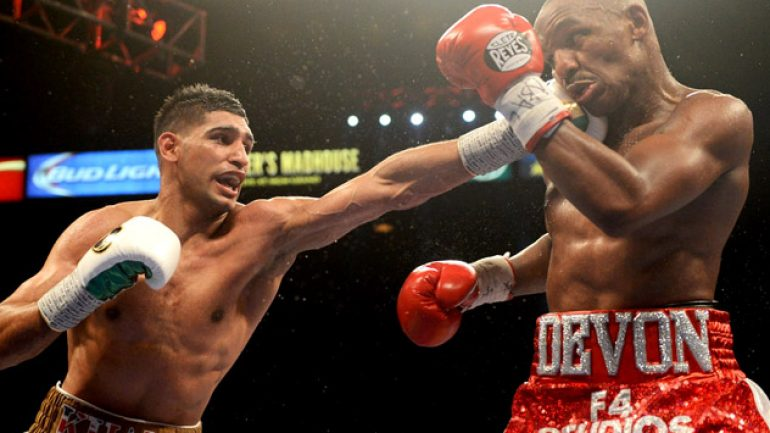 Photo gallery: Amir Khan vs. Devon Alexander card