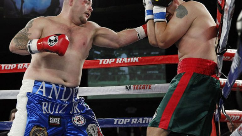 Andy Ruiz Jr. to face Josh Gormley on July 16