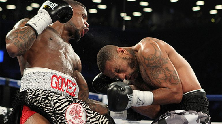 Eddie Gomez is off Canelo card with eye injury