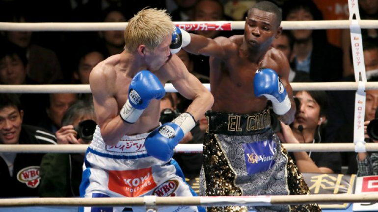 Guillermo Rigondeaux survives two knockdowns, stops Hisashi Amagasa